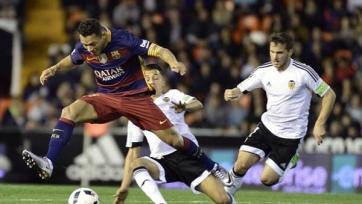 «Барселона» ушла от поражения в матче с «Валенсией»