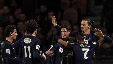 ПСЖ разгромил «Лион» и вышел в четвертьфинал Кубка Франции