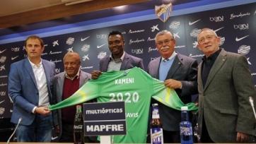 Официально: Идрисс Камени продлил контракт с «Малагой»
