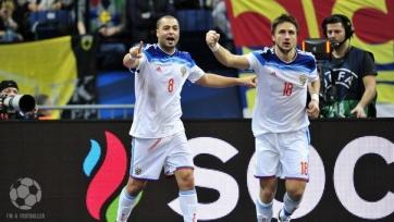 Россия пробилась в финал футзального Евро