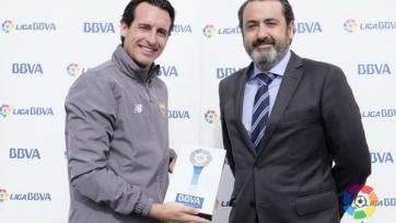 Унаи Эмери стал лучшим тренером января в испанском чемпионате
