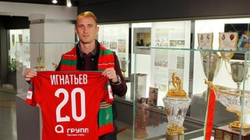 Владислав Игнатьев провёл первую тренировку в составе «Локомотива»