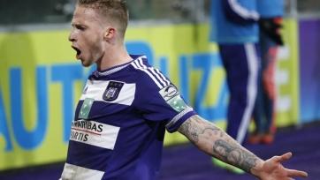 Александр Бюттнер забил первый гол в составе «Андерлехта»