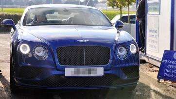 Джейми Варди приобрёл Bentley Continental за 100 тысяч фунтов, которые заработал за десять дней