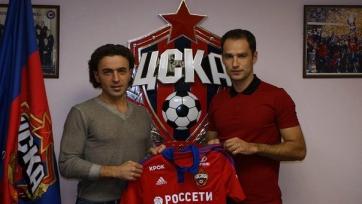 Роман Широков готовится к дебюту в составе ЦСКА