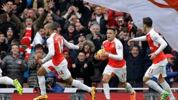 «Арсенал» одержал волевую победу над «Лестером»