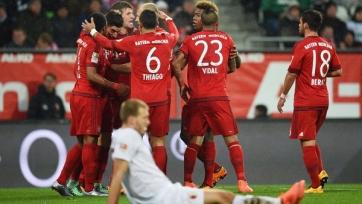 «Бавария» ожидаемо уложила на лопатки «Аугсбург»