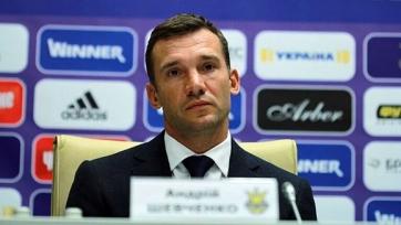 Официально: Шевченко вошёл в тренерский штаб сборной Украины