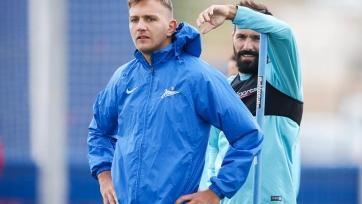 Футболисты «Зенита» получили четыре выходных дня