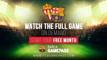 Стал известен стартовый состав «Барселоны» на матч против «Спортинга»