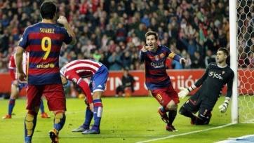 «Барселона» получила очередные три очка в Хихоне