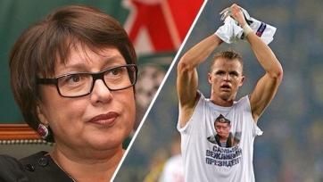 Майку с изображением Путина Тарасову посоветовала надеть Смородская