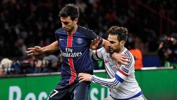 Хавьер Пасторе пропустит ближайший матч чемпионата Франции