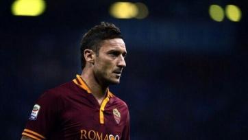 Спаллетти исключил Тотти из заявки «Ромы» на поединок с «Палермо»