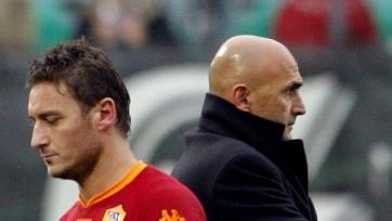 Руководство «Ромы» поддерживает Лучано Спаллетти в конфликте с Тотти