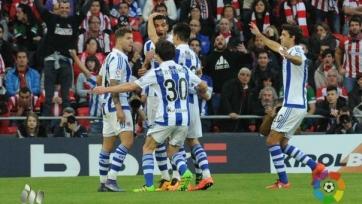 «Реал Сосьедад» торжествует в баскском дерби