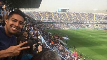 Футболисты «Амкара» и «Ростова» побывали на матче «Малаги» и «Реала» (видео)