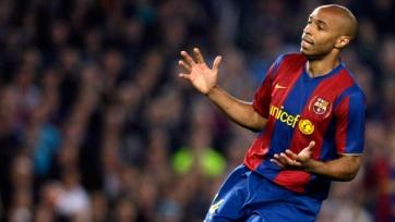В матче между «Арсеналом» и «Барсой» Анри будет поддерживать каталонцев