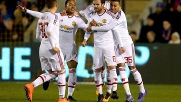 «Манчестер Юнайтед» пробился в четвертьфинал Кубка Англии