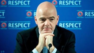 Инфантино уверен, что состав участников ЧМ должен быть увеличен до сорока команд