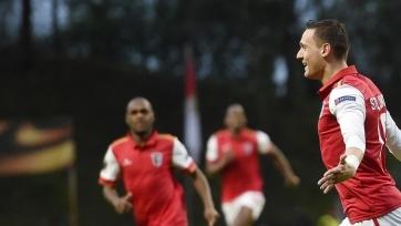 «Брага» пробилась в 1/8 финала Лиги Европы