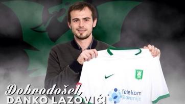 Данко Лазович продолжит карьеру в Словении