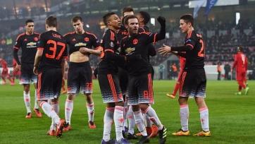 «Манчестер Юнайтед» объявил стартовый состав на матч с «Мидтьюлландом»