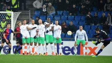 «Базель» в драматичном матче одолел «Сент-Этьен»