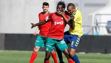 Хавбек «Локомотива» Ндинга получил небольшое повреждение