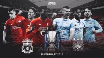 Стали известны стартовые составы «Ливерпуля» и «Манчестер Сити»