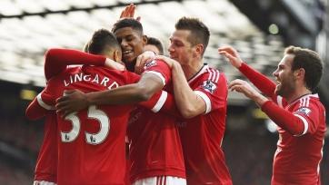 В перестрелке на «Олд Траффорд» торжествует «Манчестер Юнайтед»