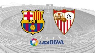 Стартовые составы матча «Барселона» - «Севилья»