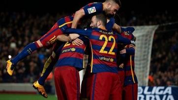 «Барселона» повторила достижение «Реала» по количеству беспроигрышных матчей кряду