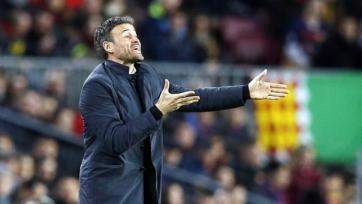 Луис Энрике: «В «Барселоне» нет запасных»