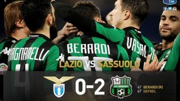 «Сассуоло» выиграл в гостях у «Лацио»