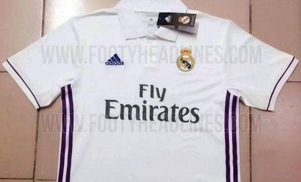 В интернете появилось изображение формы «Реала» на сезон 2016/17