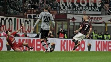 «Милан» уничтожил «Алессандрию» и пробился в финал Коппа де Италия