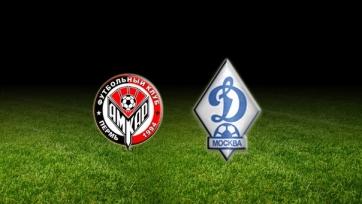 Стали известны стартовые составы «Амкара» и «Динамо»