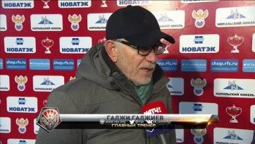Гаджи Гаджиев: «Мы одержали заслуженную победу»