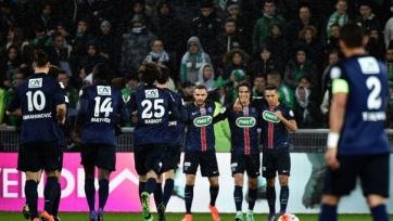 ПСЖ вышел в полуфинал Кубка Франции
