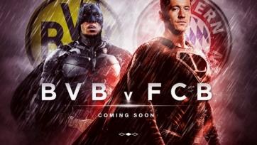 PR-отдел «Баварии» сравнил предстоящий матч с «Боруссией» с поединком Бэтмена и Супермэна