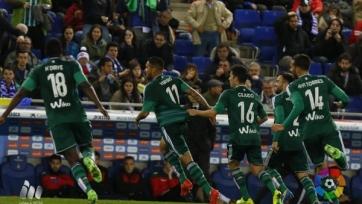 «Бетис» одержал разгромную победу в Барселоне