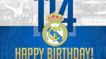 Мадридскому «Реалу» исполнилось 114 лет