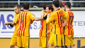 «Барселона» ожидаемо обыграла «Эйбар»