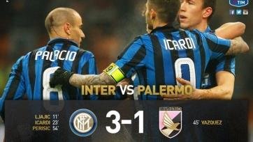 «Интер» расправился с «Палермо»