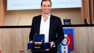 Аллегри был признан лучшим тренером Серии А в прошлом году