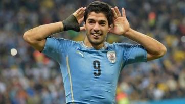 Луис Суарес побывал на тренировке «Ливерпуля»