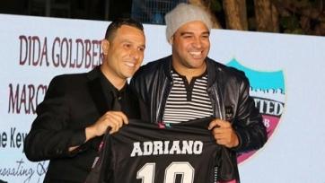 Официально: Адриано — игрок «Майами Юнайтед»