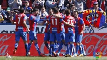 «Леванте» одолел «Валенсию» в принципиальном матче