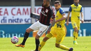 «Милан» не сумел переиграть «Кьево»